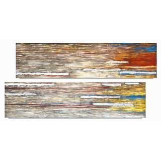 NA Canvas 'Aurora' Art (Set of 2)