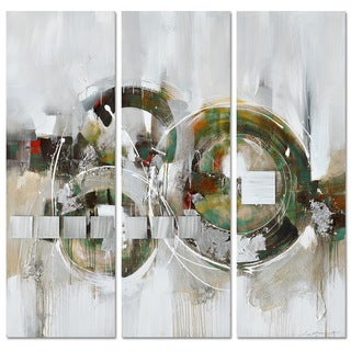 NA 'Virtually There' 3-piece Canvas Art