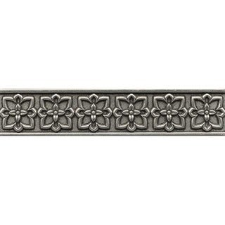 Bedrosians Romanesque Pewter Metal Resin Single Tile