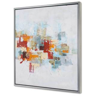 'Projection II' Framed Canvas Art