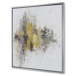 NA 'Saffron Abstract II' Canvas Art