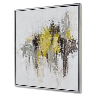 Chartreuse Abstract I
