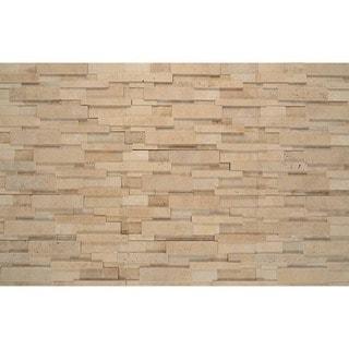 Bedrosians Medit Beige 7-inch x 21-inch Panel Stone Tiles (Box of 7)
