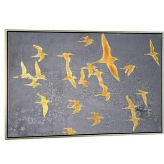 NA 'Silhouettes in Flight IV' Canvas Art