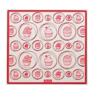 Tovolo Red and White Silicone Baking Mat