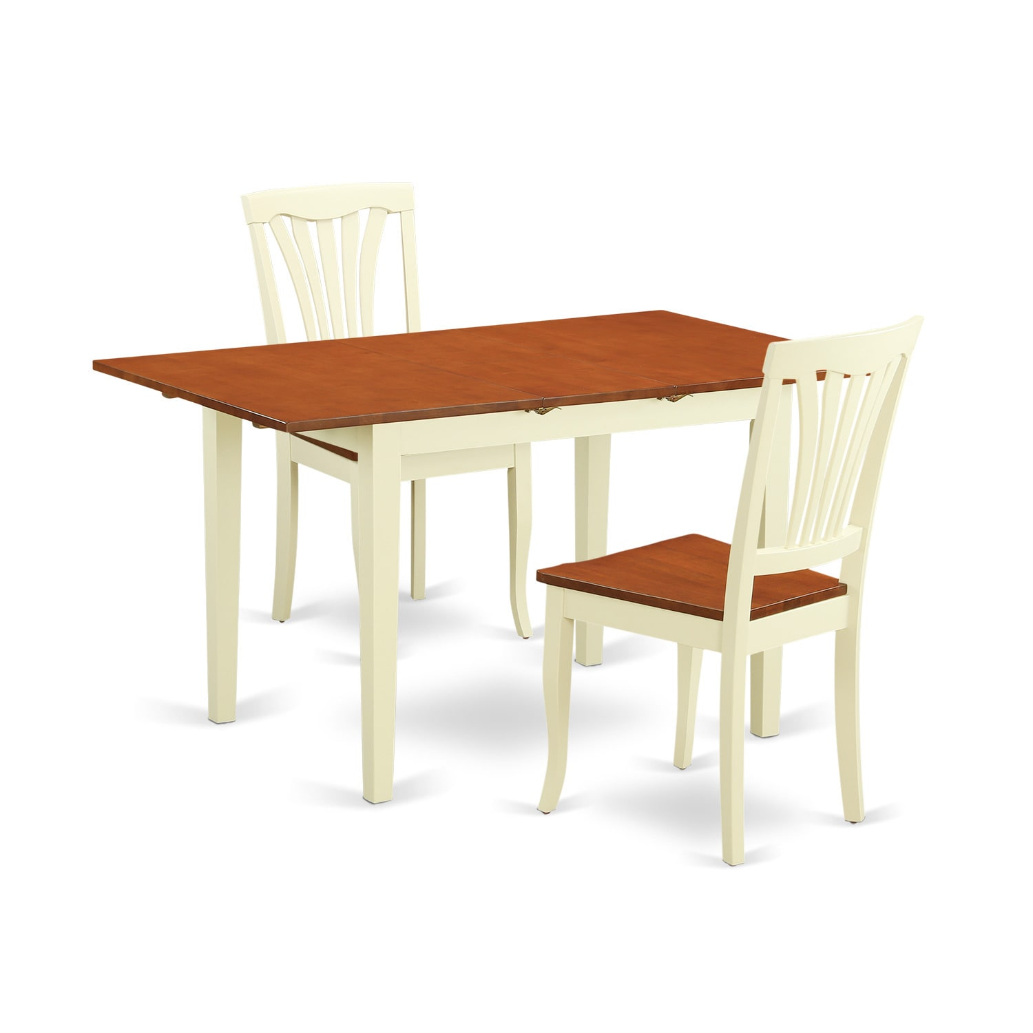 3-piece Dining Room Set with Dining Table and 2 Dining Ch...