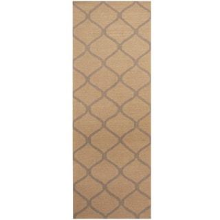 Herat Oriental Indo Hand-tufted Wool Runner (2'6 x 7')