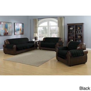 Quick Fit Sherpa Waterproof Reversible Sofa Protector (2 options available)