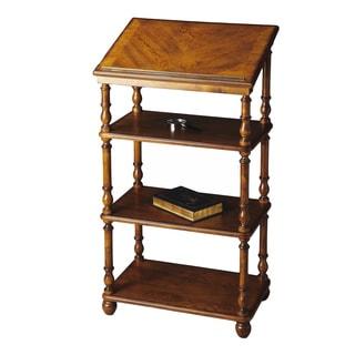 Butler Alden Vintage Oak Library Stand