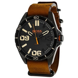 Hugo boss Men's 1513316 Orange Watch