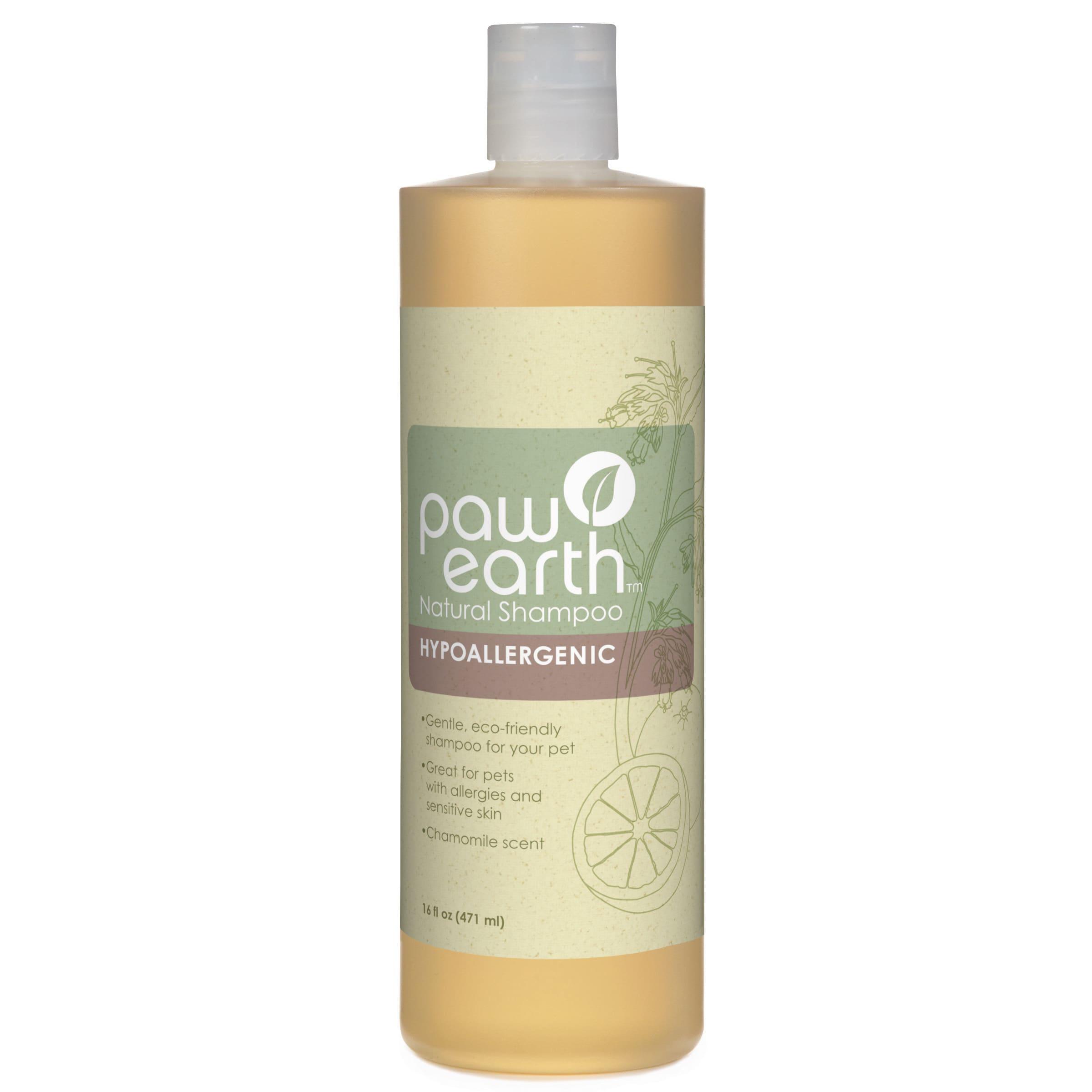 Paw Earth Natural Shampoo (Tea Tree Oil & Aloe 16 oz), Wh...
