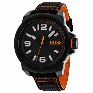 Hugo boss Men's 1513343 Orange Watch