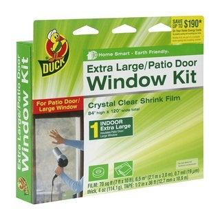 Duck Brand Indoor Window Shrink Film Insulator Kit (2 Pack of 10-window)