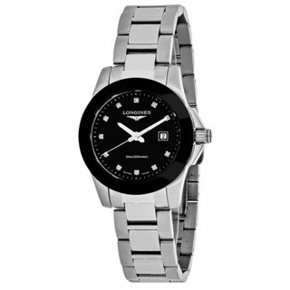 Longines Women's L32574576 Conquest Watch. Opens flyout.