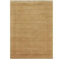 Herat Oriental Indo Hand-loomed Tribal Gabbeh Wool Rug - 6'6 x 9'