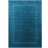 Herat Oriental Indo Hand-loomed Tribal Gabbeh Wool Rug - 5'8 x 8'