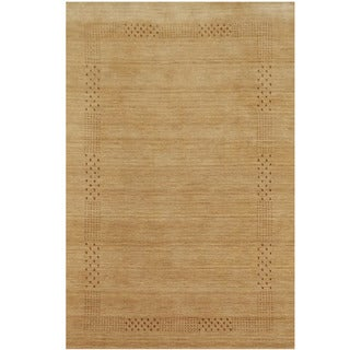 Herat Oriental Indo Hand-loomed Tribal Gabbeh Wool Rug (5'8 x 8')