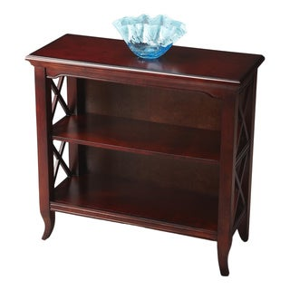 Butler Newport Plantation Cherry Low Bookcase