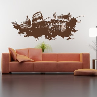 Style and Apply Rome Streetart Vinyl Wall Art
