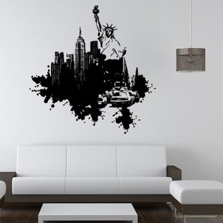 Style and Apply New York Streetart Vinyl Wall Decal and Sticker Mural Art Home Decor