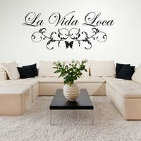 Style and Apply La Vida Loca Wall Decal/Sticker/Mural Vinyl Art