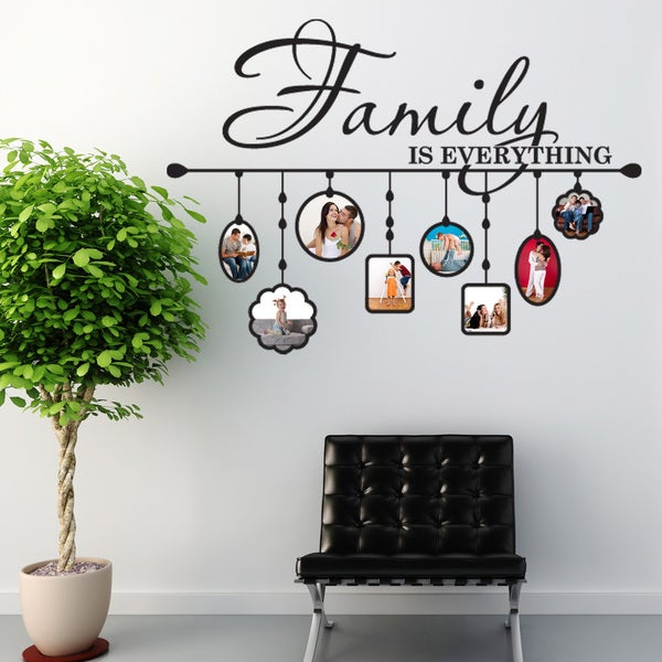 Shop Style Apply Family Picture Frame Vinyl Wall Decal On Sale