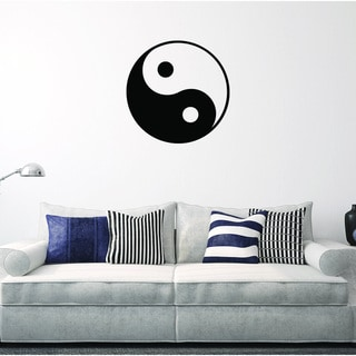 'Ying Yang' Vinyl Wall Decal