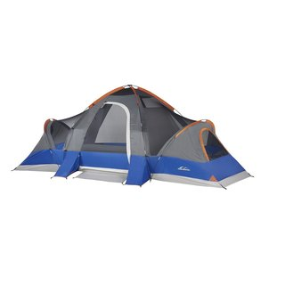 Suisse Sport Wyoming 8-person 3-room Tent  sc 1 st  Overstock.com : 4 person 2 room tent - memphite.com