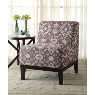 Hinte Patterned Fabric Accent Chair