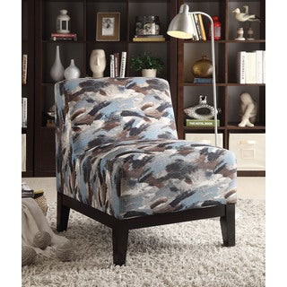 Pattern Fabric Hinte Accent Chair