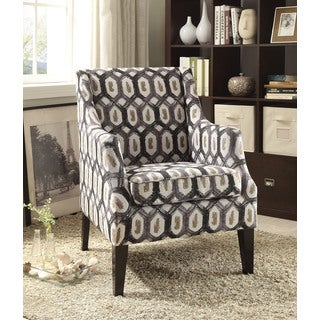 Zarate Accent Chair, Pattern Fabric