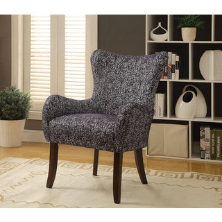 Gabir Accent Chair, Fabric & Espresso