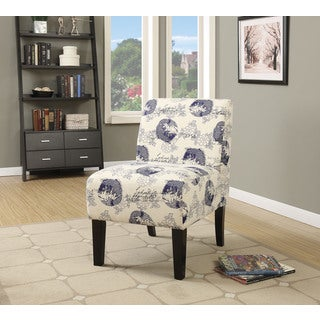 Pattern Fabric Ollano Accent Chair