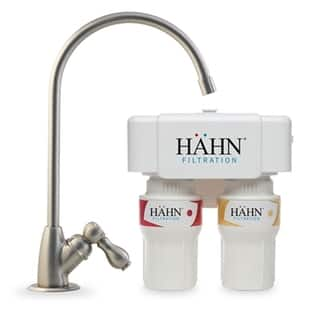 Hahn 2 Stage White Undercounter Water Filtration System