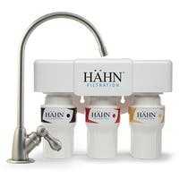 Hahn 3-stage Undercounter Water Filtration System