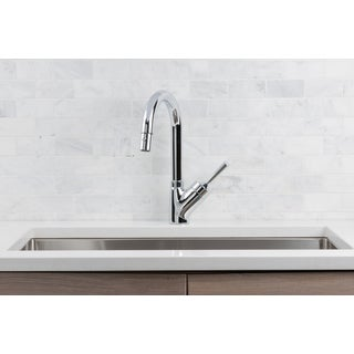 Hahn Avante-Garde Chrome Joystick Pull-down Kitchen Faucet