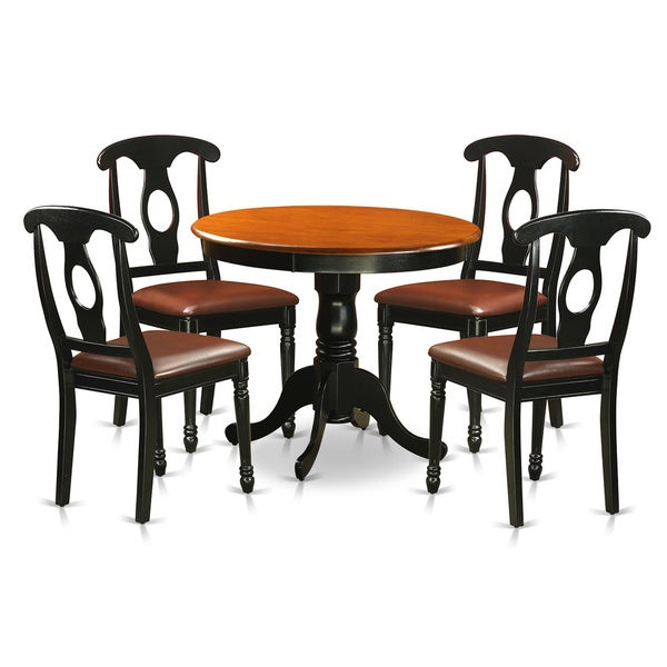 Why Adding A Rug Under Dining Table Sets Is A Must: Shop Antique 5-piece Dining Set Including 4 Dining Chairs