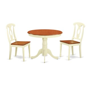 3-piece Kitchen Nook Dining Set For 2-dinette Table and 2 Kitchen Dining Chairs