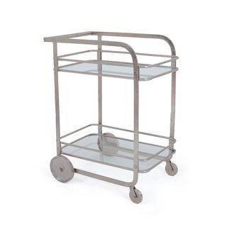 Two-Tiered Bar Cart