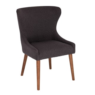 Bianca Grey Fabric, Foam, Wood Contemporary Dining Chair