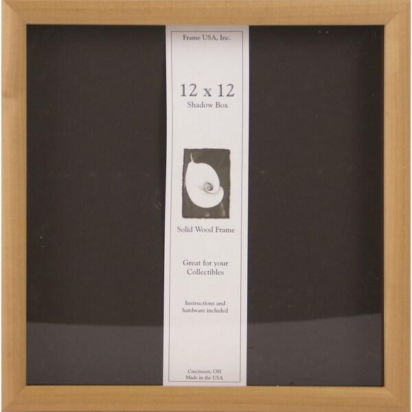 Unfinished Wood Shadow Box Frame