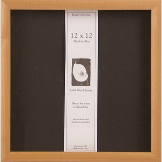 Wooden 12x12 Elite Frame Unfinished Shadow Box