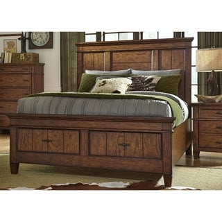Rocky Mountain Whiskey Brown Storage Bed Set
