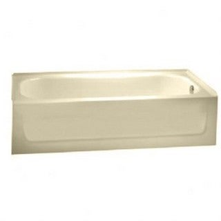 American Standard Salem Bone Enamel/Stainless Steel Soaking Bathtub