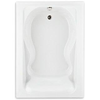American Standard Cadet White Acrylic Soaking Bathtub