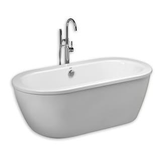 American Standard Arctic White Acrylic Soaking Bathtub