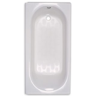American Standard Princeton 2392.202TC.020 White Stainless Steel Soaking Bathtub