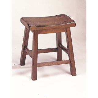 Walnut Gaucho Stool (Set of 2)