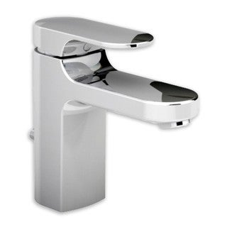 American Standard Silver Brass Single-hole Bathroom Faucet