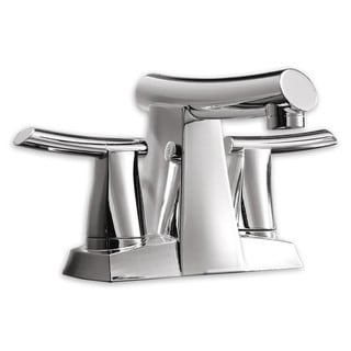 American Standard 7010.201.002 Polished Chrome Green Tea Centerset Bathroom Faucet